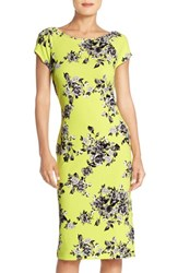 Women's Eci Print Pique Midi Dress