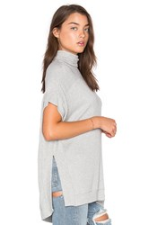 Velvet By Graham And Spencer Josephine Poncho Grey