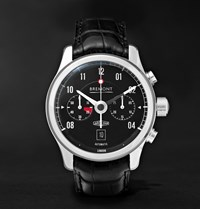 Bremont Mkii Jaguar Stainless Steel And Alligator Watch