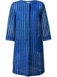 P.A.R.O.S.H. Crochet Coat Blue