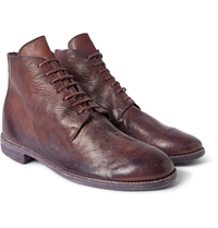 Guidi Full Grain Leather Lace Up Boots