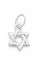 Helen Ficalora Star Of David Charm Silver