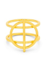 Gorjana Women's 'Anya' Openwork Circle Ring