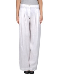 Adele Fado Casual Pants White