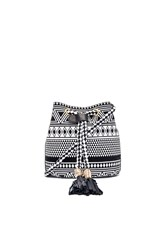 Twelfth St. By Cynthia Vincent Echo Bucket Bag Black And White