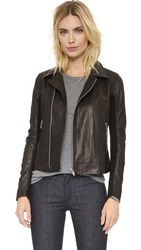 June Leather Jacket Black