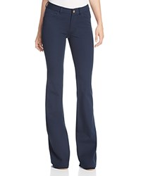 Michael Michael Kors Selma Flared Jeans In New Navy