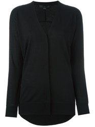 Alexander Wang V Neck Cardigan Black