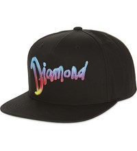 Diamond Supply Co. World Tour Snapback Cap Black Multi