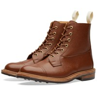 Trickers End. X Tricker's Allan Toe Cap Boot Brown