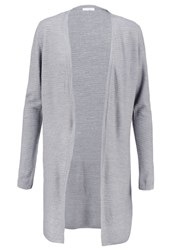 Jdymathison Cardigan Light Grey Melange Mottled Light Grey