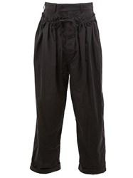 Craig Green Drawstring Tapered Trousers Black
