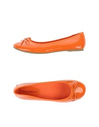 Francesco Milano Footwear Ballet Flats Women Orange