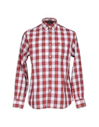 Jaggy Shirts Red