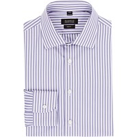 Barneys New York Trim Fit Shirt Purple
