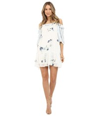 See By Chloe Posies Cold Shoulder Dress Off White Women's Dress