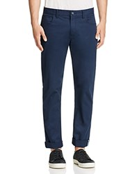 Original Penguin Five Pocket Slim Fit Pants Dark Sapphire