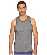 Manduka Minimalist Tank Top 2.0 Dark Grey Heather Men's Sleeveless Gray