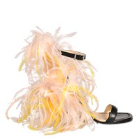 Emilio Pucci Feather Sandal