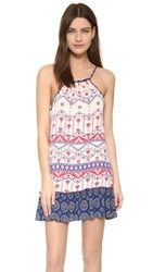 Minkpink Western Wonder Dress Cream Multi