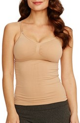 Women's Rosie Pope Seamless Nursing Maternity Camisole Nude