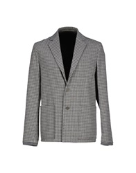 M.Grifoni Denim Blazers Light Grey