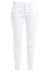 Opus Emily Slim Fit Jeans White