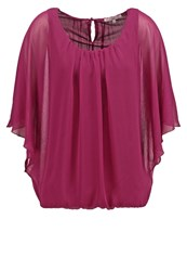 Anna Field Blouse Berry