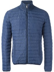 Dirk Bikkembergs Padded Jacket Blue