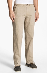 Vintage 1946 'Military' Relaxed Fit Chinos Khaki