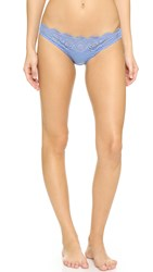 Stella Mccartney Rachel Shopping Bikini Briefs Shirting Blue