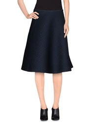 Ailanto Knee Length Skirts Dark Blue