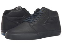 Lakai Fura High Weather Treated Black Black Oiled Suede Men's Skate Shoes