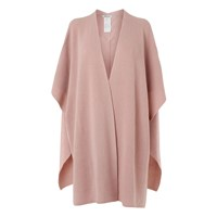 Lk Bennett Cecily Ribbed Wrap Scarves Pink