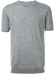 Nuur Knitted T Shirt Grey