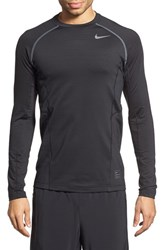 Men's Nike 'Pro Hyperwarm' Fitted Long Sleeve Dri Fit T Shirt