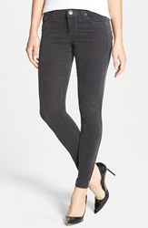 Petite Women's Kut From The Kloth 'Diana' Stretch Corduroy Skinny Pants Annecy Charcoal