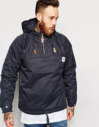 Fat Moose Sailor Wax Overhead Jacket Navy