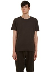 Les Basics Short Sleeved Crew Neck T Shirt Black
