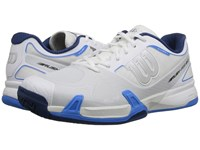 Wilson Rush Pro 2.0 White Gray Blue Men's Tennis Shoes