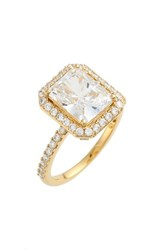 Women's Nadri Cushion Cut Cubic Zirconia Ring Gold