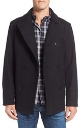 Filson Men's Hatch Wool Peacoat Dark Navy