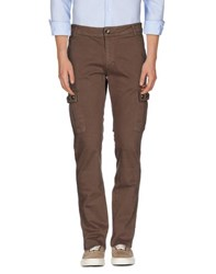 Gaudi' Trousers Casual Trousers Men Cocoa