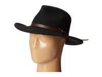 Woolrich Wool Felt Outback W Leather Band Black Caps