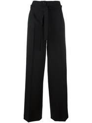 Veronique Branquinho Flared Trousers Black
