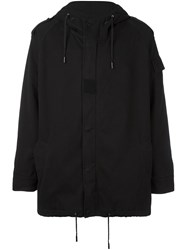 Saint Laurent Military Parka Black