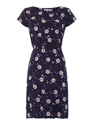 Dickins And Jones Whitney Dandelion Printed Dress Multi Coloured Multi Coloured