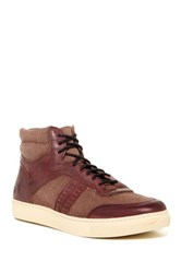 Andrew Marc New York Concord High Top Sneaker Multi