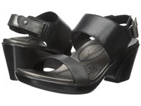 Aetrex Peyton Wedge Sandal Black Women's Wedge Shoes