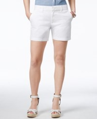 Tommy Hilfiger 5' Hollywood Chino Short White